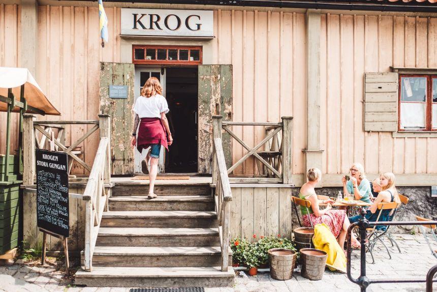 Stockholm SKansen Krog Shop