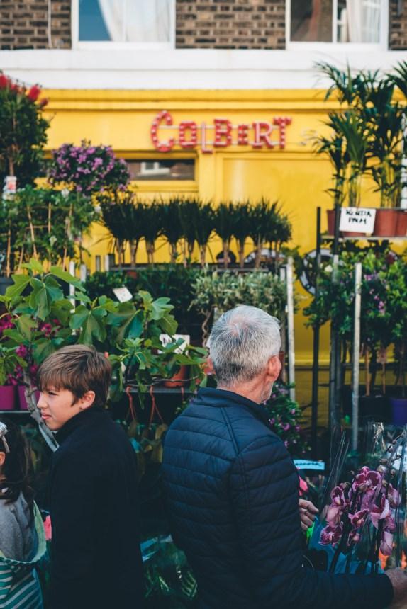 Columbia Road Flower Market London Colbert Stall