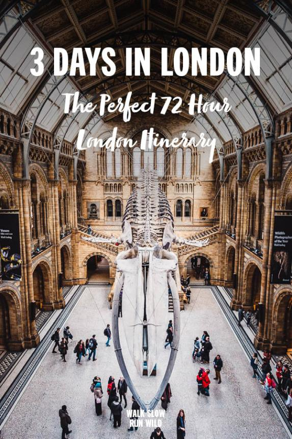 3 Days In London The Perfect 72 Hour Itinerary