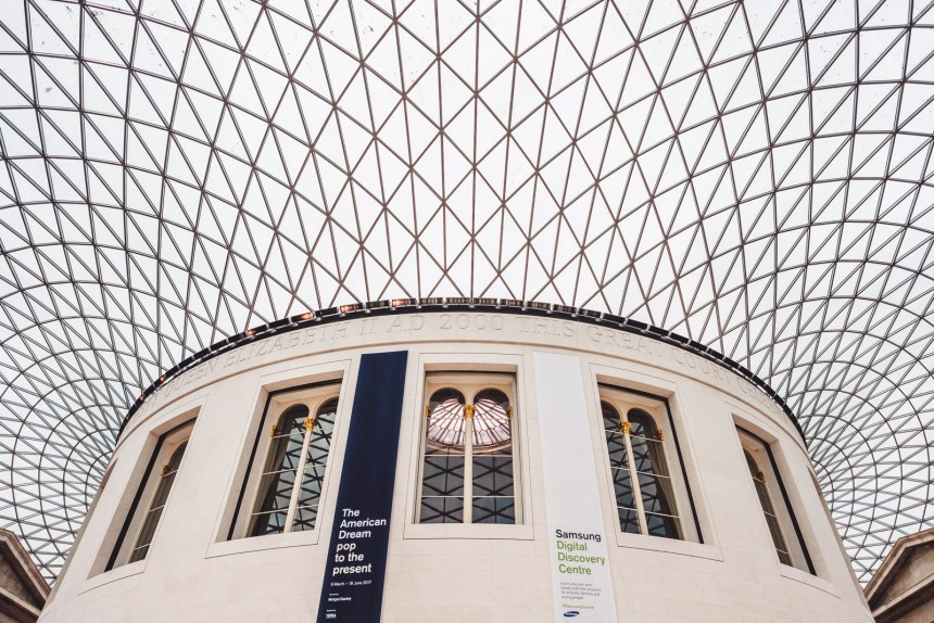 London Itinerary British Museum Great Court Roof