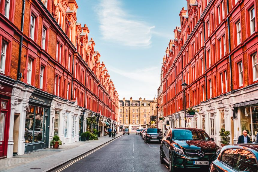 London Itinerary Chiltern Street Marylebone