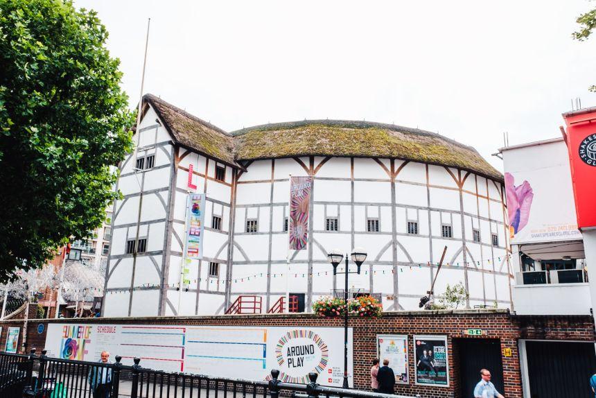 London Itinerary Shakespeares Globe Theatre