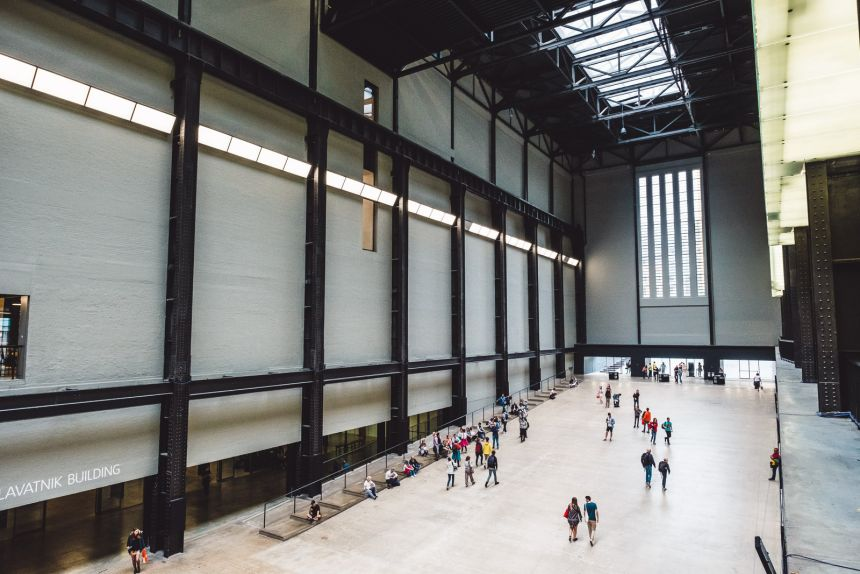 London Itinerary Tate Modern Large Turbine Hall