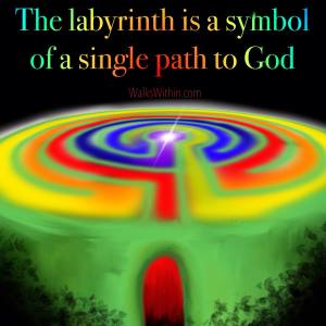 Walking the Labyrinth Guided Meditation takes you on a journey through a 7 circuit labyrinth. Each turn of the labyrinth accesses and awakens a different chakra (energy center) in your body, until you get to the center and the place of quiet wisdom inside. Walk the labyrinth here