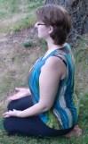 Kneeling Meditation Position