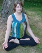 Lotus Meditation Position