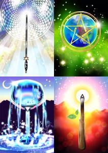 Art Love Light Walks Within Tarot