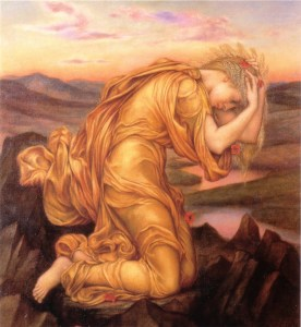 Demeter Mourning for Persephone Evelyn Pickering De Morgan (1906)