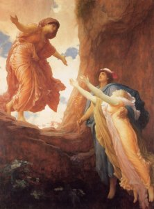 Demeter Rejoices at Persephone's Return