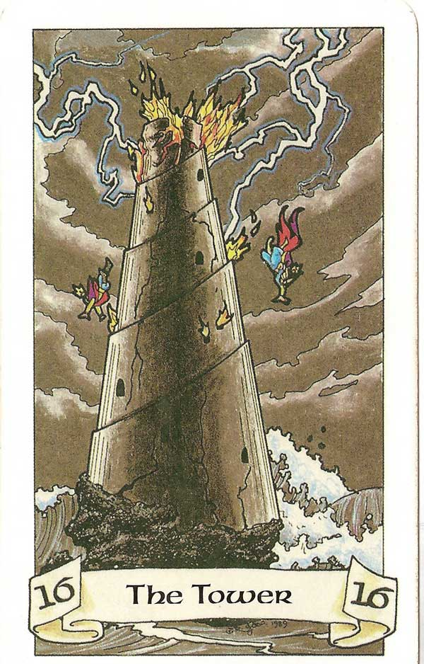 tower tarot card   Walks Within Guided Meditations