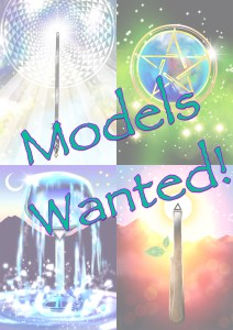 Models Wanted Tarot Cards Art Love Light Walks Within
