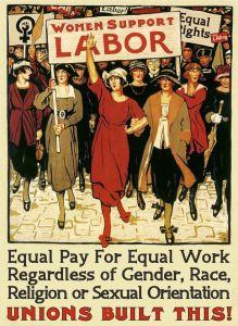 Women support labor