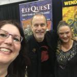 Me with Wendy and Richard Pini