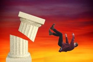 falling-off-pedestal