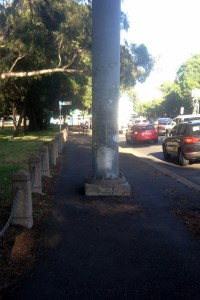 Moore Park Rd pole