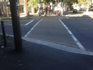 Bourke St crossing