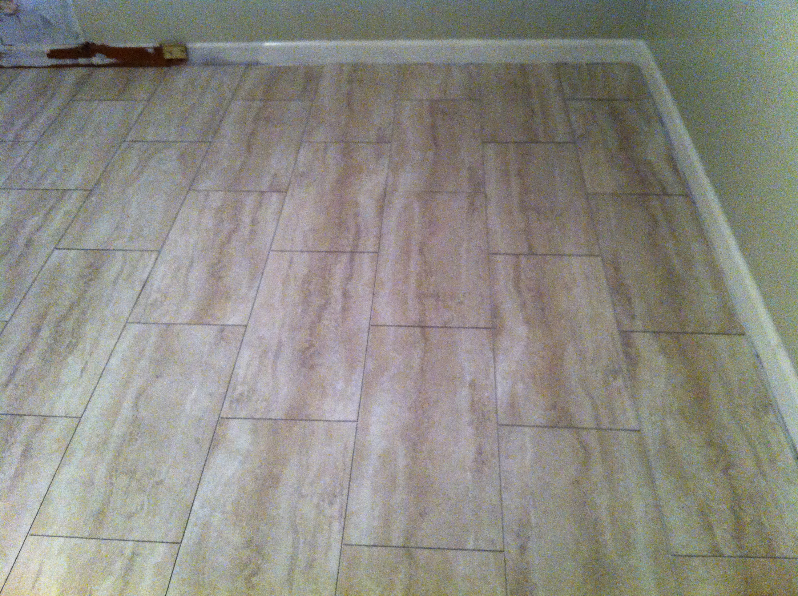 Groutable Vinyl Tile  Walkthecreativepath