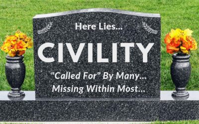 The NEW Civility — More than George Washington, Politicians, or Compromising on our Views