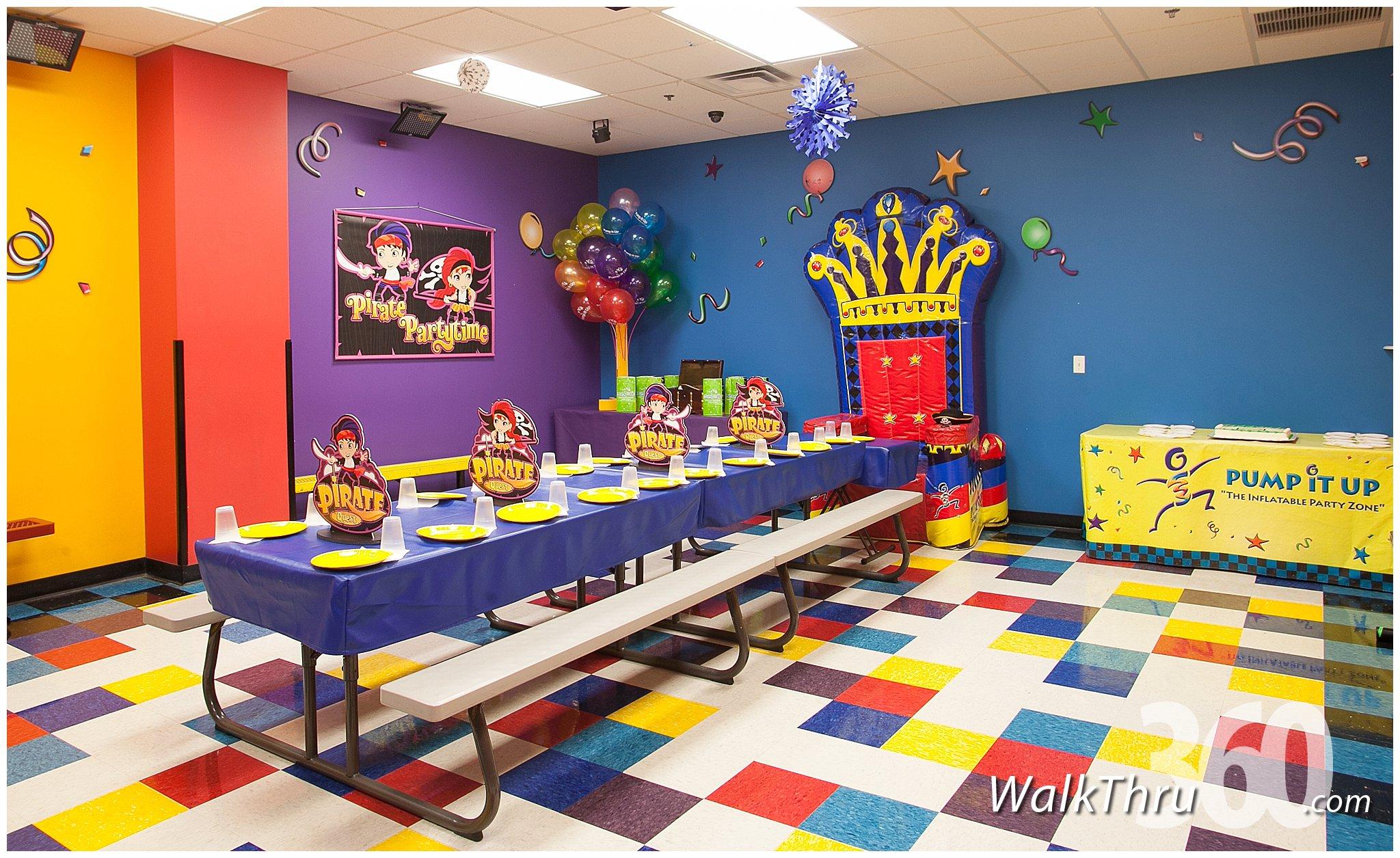 Pump It Up Kids Entertainment Lincoln Park  Virtual Tour by WalkThru360  WalkThru360  Google