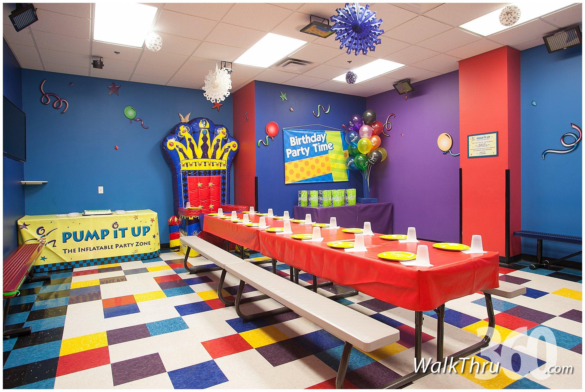Pump It Up Kids Entertainment Lincoln Park  Virtual Tour