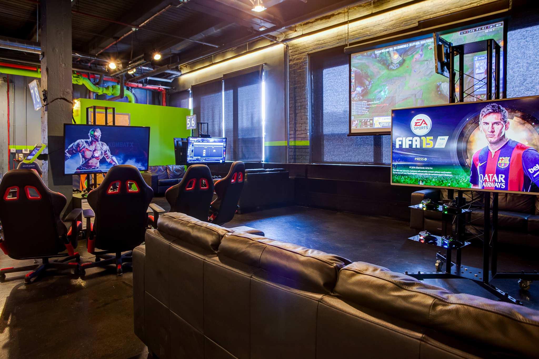 Ignite Gaming Lounge Facility Chicago Downtown Elston Ave  WalkThru360  Google 360 Chicago
