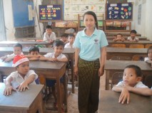 The classroom: Primary school