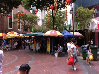 Chinatown street market, Singapore
