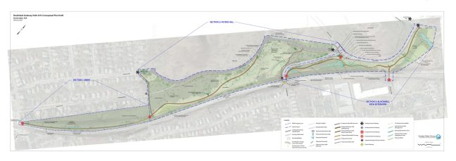 Updated 25% Design Plan for Roslindale Gateway Path