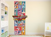 Wonder Woman Rainbow Wall Decal