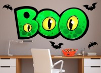 Boo Monster Wall Decal