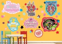 Looney Tunes Circus Wall Decal Set