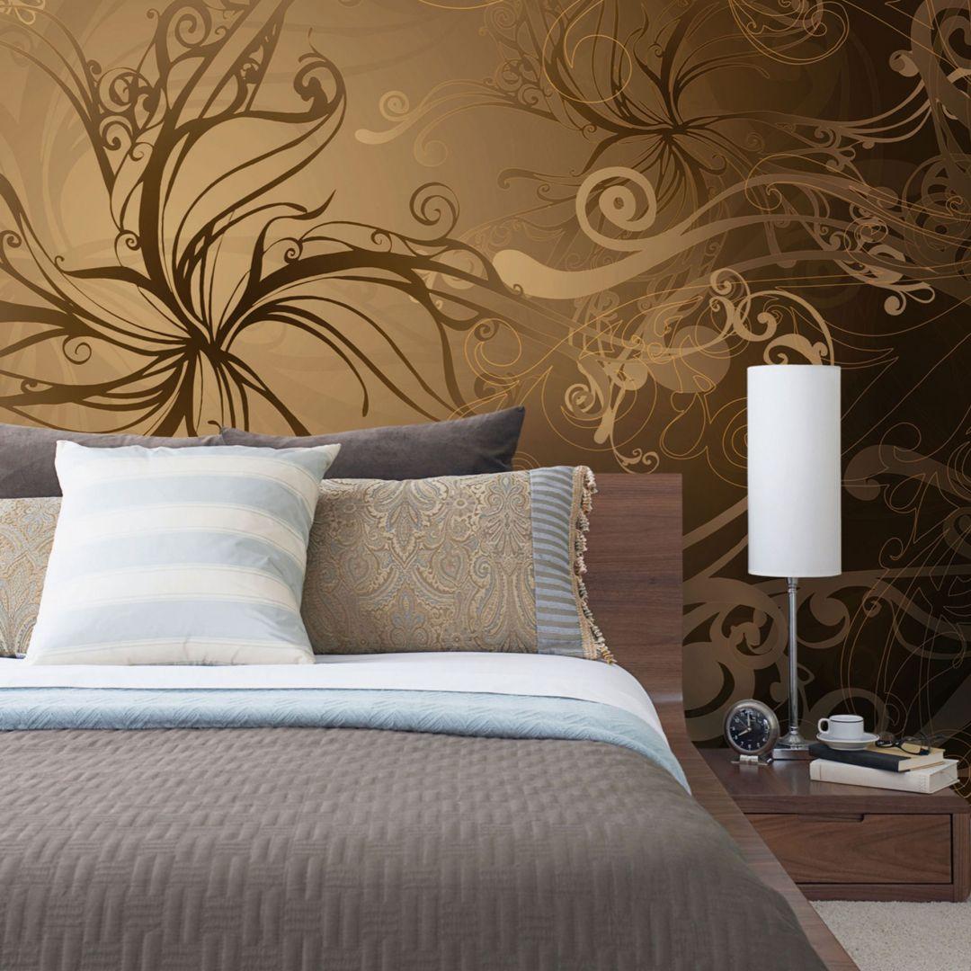 Schlafzimmer Fototapete Holz | Eule Einstein ...