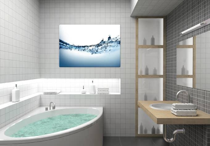 Nice Glasbilder Fã¼r Badezimmer Images Gallery # Bilder Im Bad ...