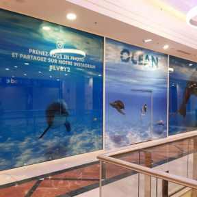 Palissade Ocean Centre Commercial SCC Evry2