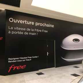 Palissade Chantier Free Centre Commercial Klepierre Creteil Soleil