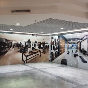 Palissade Travaux Bois Centre Commercial Paul Doumer Caen
