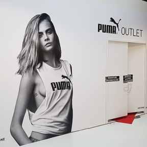 Palissade Travaux Puma Outlet Centre Commercial Marques Avenue 2