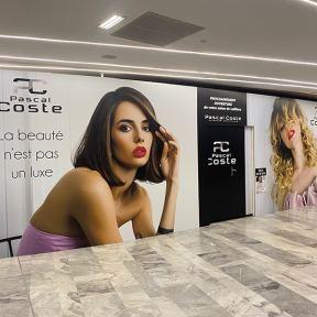 Palissade Travaux Pascal Coste Centre Commercial Espace Saint Georges Toulouse