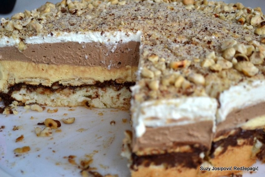 Recept Monte torta  ista senzacija