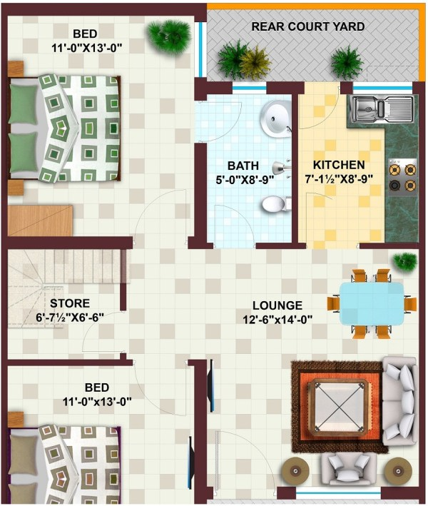 5 Marla Houses Map