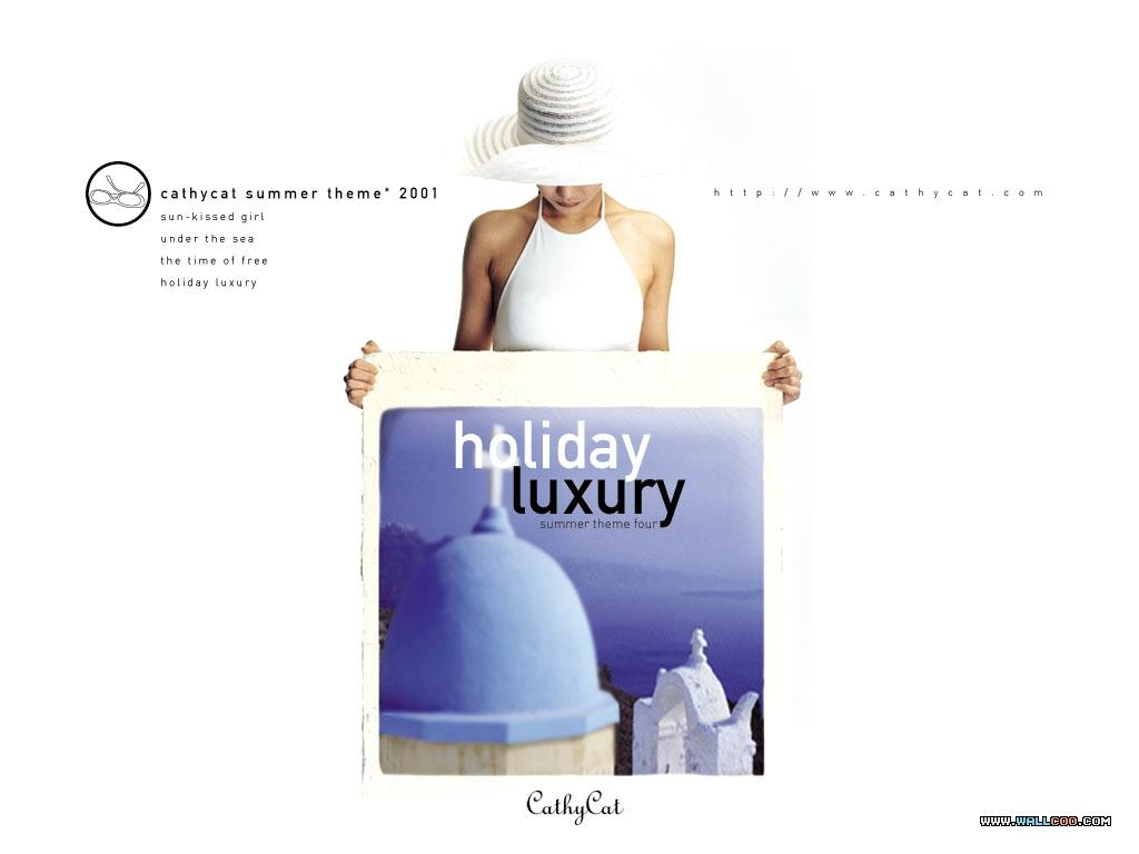 桌布天堂 --- 韓國化妝品牌CATHY CAT廣告桌布7