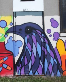 detail of mural by Kyoti for Decolonizing Street Art