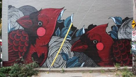Zema mural in Mile End