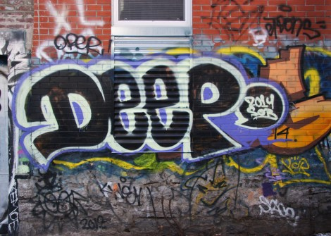 graffiti by Deep