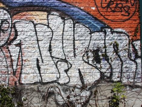 Nixon graffiti off Duluth