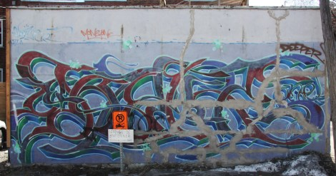 Monk.e graffiti from 2002 in HoMa