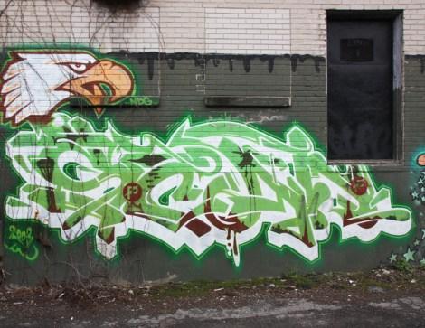 Scaner in a NDG / Cote des Neiges alley