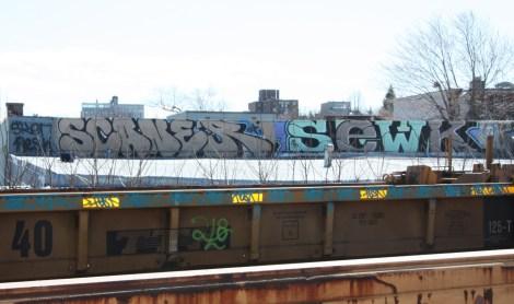 Scaner & Sewk graffiti