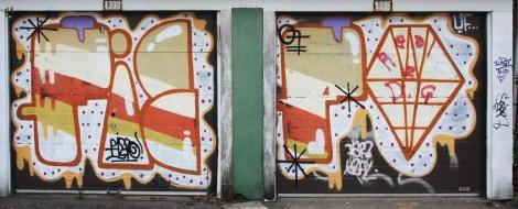 Fiefo on double garage doors