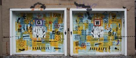 Double garage door by Mateo